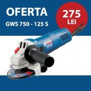 Polizor unghiular Bosch GWS 750 -125 S
