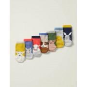 Boden Bauernhoffreunde Box mit Socken im 7er-Pack Baby Baby Boden, 68, Multi