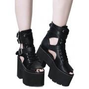 Wedge Boots - KILLSTAR - KSRA001134
