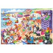Puzzle The House of Puzzles - At The Seaside, 80 piese XXL (56939)