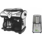 Pachet Espressor Studio Casa 1353 New Delicia Combi 15 bar 2 in 1 + Rasnita Del Caffe Grind Master 220W 60g Bonus Cafea boabe Kaidi 500