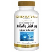 Golden Naturals Krillolie 500mg Capsules