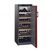 Wijnklimaatkast Zwart/Bordeaux Rood | 200 Flessen | Liebherr | 409 Liter | WTr 4211 | 60x74x(h)165cm