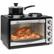 Cuptor electric cu 2 plite incorporate 33L Amdrew James AJ000548