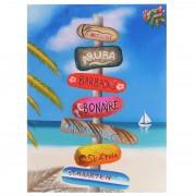 Ölgemälde Straßenschild, 100% handgemaltes Wandbild Gemälde XL, 100x75cm ~ Variantenangebot