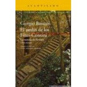 Bassani Giorgio El Jardin De Los Finzi-contini (la Novela De Ferrara Iii)