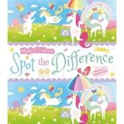 Magical Unicorn Spot the Difference, Paperback/Sam Loman