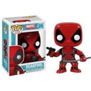 Figurina Pop Marvel Deadpool With Gun And Sword