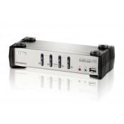 Switch KVM Aten CS1734, nr de calculatoare conectate: 4, rezolutie: 2048x1536