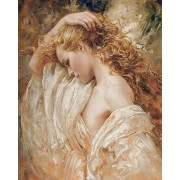 Gaira Malování podle čísel Dívka se zlatými vlasy M992629