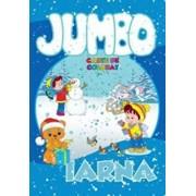 Jumbo - Iarna. Carte de colorat/Roxana Geanta