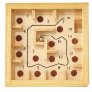 Labirint numerotat cu bila natur