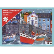 Otter House 1000 Piece Puzzle - Seaside Promenade By Peter Adderley