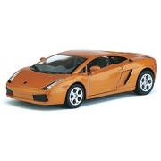"""Lamborghini Gallardo Kinsmart 5"""" 1:32 Scale Diecast Model Door Openable and Pull Back Action From Flying Toyszer"""