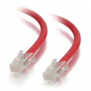 C2G 0.5m Cat5e Non-Booted Unshielded (UTP) Network Patch Cable - Red