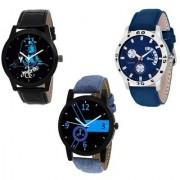 New Mahadev Avio Lorem Blue Latest Designing Stylist Looking Analog Watch For Men Boys