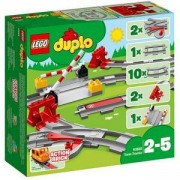 Конструктор Лего Дупло Релси за влак, LEGO DUPLO, 10882