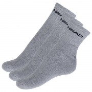 Head 3PACK ponožky HEAD šedé (771026001 400) M