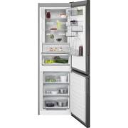 Combina frigorifica AEG RCB732E5MB, No Frost, 324 L, H 186 cm, Display LCD, Racire rapida, Inghetare rapida, Clasa energetica A++, Gri inchis