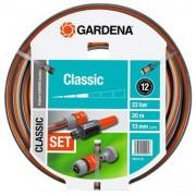 Set crevo Classic 20M 13mm (1/2″) + Nastavci + Prskalica GA 18004-20 – Gardena