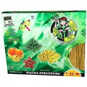 Toyzone Ben 10 Magna Structure Multi Color (240 Pieces)