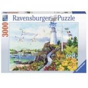 Пъзел Ravensburger 3000 елемента, Крайбрежен рай, 7017073