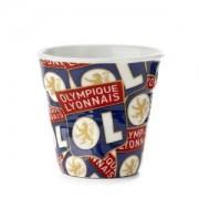 Olympique Lyonnais Tasse Froissée Espresso Revol Logo OL - Foot Lyon