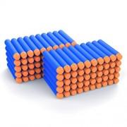 AMOSTING Refill Darts 100PCS Bullet for Nerf N-Strike Elite Zombie Strike Rebelle - Blue