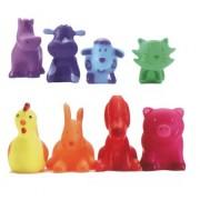 Djeco / Rainbow Animals 8-Piece Playset
