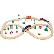 Viga Train Set 49pcs