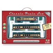 WowToyz Classic Train Set - Diesel Engine with Passenger Cars