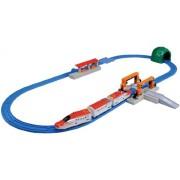 Plarail Series E6 [Super Komachi] & Tomica Arch Rail Crossing Set (Model Train)