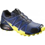 Salomon Speedcross 4 GTX - scarpe trail running - uomo - Blue/Yellow