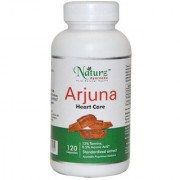 Naturz Ayurveda Natural & Pure Arjuna Heart capsule for cholestrol and supports heart functions - 120 capsules 500mg