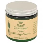 Royall Fragrances Royall Lyme Shaving Cream 4 oz / 118.29 mL Grooming 536071