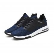 Calzado casual Tenis Ultra Confort Air Mesh pasear hombres Verano Hombre Luz Blue