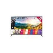 Smart TV LED 43 LG 43UJ6565 Ultra HD 4K Conversor Digital Wi-Fi 4 HDMI 2 USB Webos 3.5 Hdr 3 Sound Synk