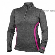 Better Bodies Women Better Bodies Performance Mid L/S Graphite Pink