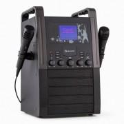 Auna KA8B-V2 BK equipo de karaoke portatilCD AUX negro (KS1-KA8B-V2 bk)