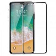 Folie din sticla 3D securizata MyScreen Apple iPhone X Full Glue Black
