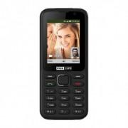 Maxcom MK241 mobiltelefon, kártyafüggetlen, bluetooth-os, fm rádiós fekete KaiOS operációs rendszerrel
