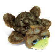 Puzzled Brown Sea Turtle Small Super - Soft Stuffed Plush Cuddly Animal Toy Ocean Life Theme 7 Inch (5389)