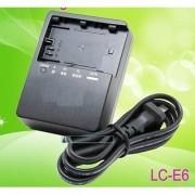 LC-E6E Charger For Canon LP-E6 Battery EOS 7D 5D 6D 60D 60Da Mark II III Grip