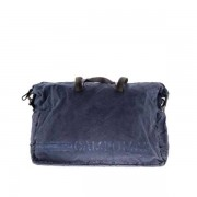 Campomaggi Weekend Bag (BEIGE+T/Blu)