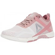 Reebok Women's Crossfit Grace TR Track Shoe, Shell Pink/Chalk/Sandy Rose/Silver Metallic, 8 M US