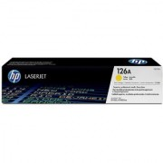 HP 126A Yellow LaserJet Toner Cartridge (Yellow)
