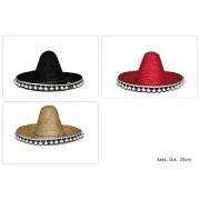Palarie petrecere sombrero mexican copii cu ciucurasi