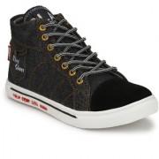 Krasiva Men's Black Synthetic Casual Boots