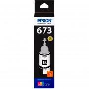 Botella Tinta EPSON T673 L800 L805 L810 L850 L1800 Negro