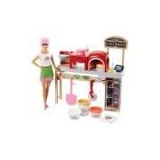 Barbie Pizzaiola Mattel Loira